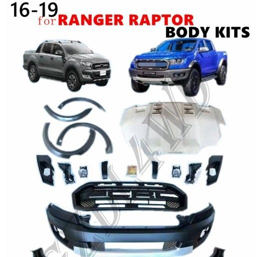 Chiny Facelift 4x4 karoserii dla Ford Ranger Raptor T6 T7 T8 PX PX2 PX3 2015+ fabryka