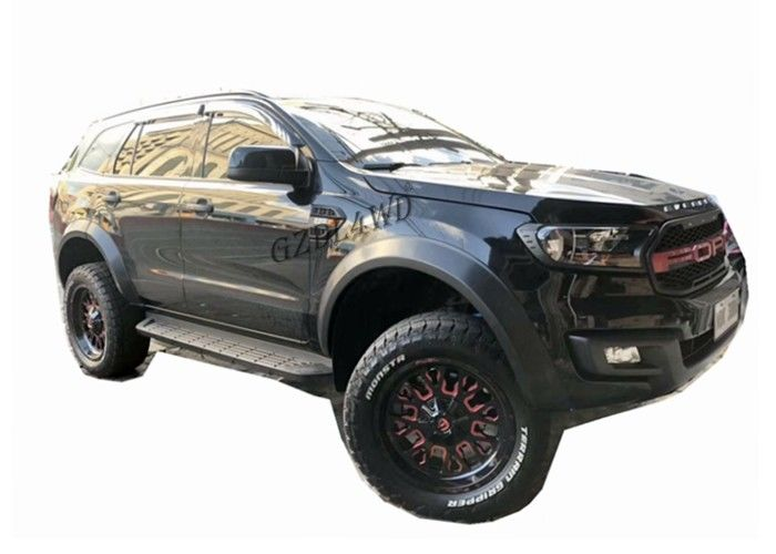 Chiny OEM 2016 2019 Ford Everest Slim Wheel Flare Smooth Black fabryka