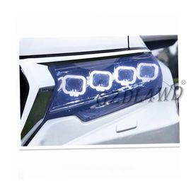 Offroad Pickup Buggati Style 4x4 Driving Lights / Angel Eye Headlights For Prado FJ150 LC150